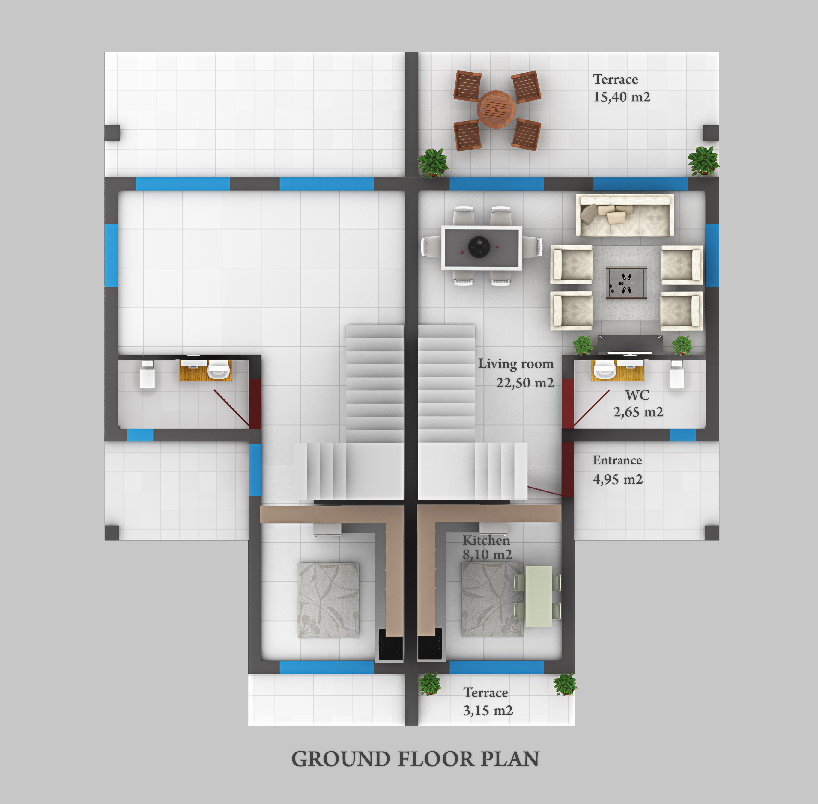 GROUNDFLOOR PLAN